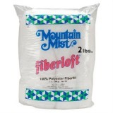 Mountain Mist Polyester Stuffing - Fiberloft 301 - 2 lbs.