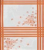 Wholesale Oilcloth - Oslo Orange - 12 yds