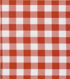 Oilcloth - Picinic Check - Red
