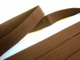 "Polyester Webbing - 1"" Brown"