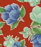 Oilcloth - Poppy Red