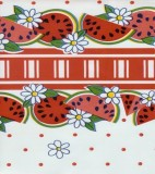 Oilcloth - Reunion - Red