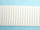 "Wholesale Elastic - Ribbed Woven Non-Roll WE-10 - White 1""   50yds"