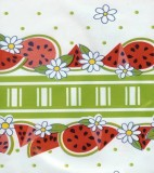 Oilcloth - Reunion - Lime Green