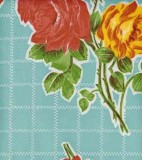 Oilcloth - Rosegall - Light Blue