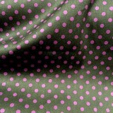 Wholesale Cotton Batiste - Black with Small Plum Dots - 25 yard bolt