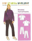 Sewing Workshop Collection Madrid Top and Pants