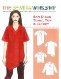 Sewing Workshop Collection - San Diego Tunic, Top & Jacket
