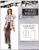 Sewing Workshop Collection Sandra Betzina Vest & Skirt Pattern