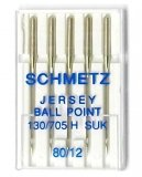 Schmetz Magazine Jersey Ball Point Needles, size 80/12