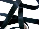 "Silk Satin Ribbon 3/8"" Black"