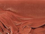 Wholesale Stretch Velvet - Rust #337  17yds