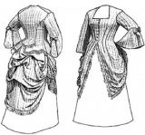 Truly Victorian #410 - 1873 Polonaise - Historical Dress Pattern