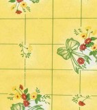 Wholesale Oilcloth - Tattersall Lemonade - 12yds