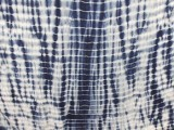 Wholesale Shibori Bamboo Knit - Trellis #66029 - Navy #58 - 17 yards