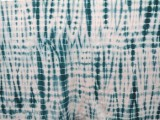 Wholesale Shibori Bamboo Knit - Trellis #66029 - Teal #23 - 17 yards