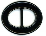 Buckles-Lucite Buckle Cocoa H