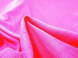 Wholesale Cotton Gauze Fabric - Fuchsia #529, 25 yards