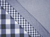 Gingham Check- Navy/ White
