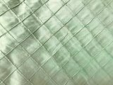 Pintuck Silk Dupioni Fabric - Basil