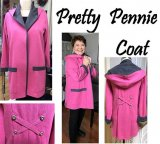 FitNice Pretty Pennie Coat Pattern Directions