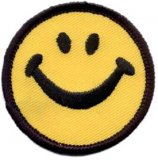 Applique - Happy Face, 2""