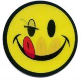"Applique - Smiley Face, 3.5"" - Changes Faces!"