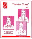 L.J. Designs #117, Twister Scarf