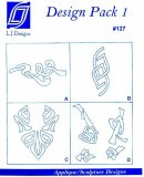 L.J. Designs #127 - Design Pack 1- Applique Sewing Pattern