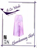 "L.J. Designs ""A La Mode"" Chardonnay Skirt Sewing Pattern"