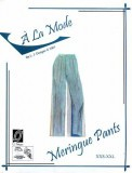 "L.J. Designs ""A La Mode"" Meringue Pants Sewing Pattern"