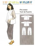 Sewing Workshop Collection - Picasso Top & Pants