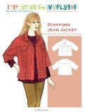 Sewing Workshop Collection - Stafford Jean Jacket