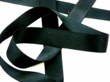 "Wholesale Silk Satin Ribbon 5/8"" Black"