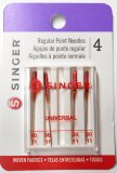 Singer- Regular Point Needles 4715  - 80/11