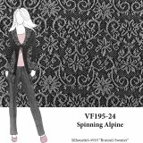 VF195-24 Spinning Alpine - Grey Novelty Sweater Knit Fabric