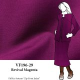 VF196-29 Revival Magenta - Vibrant and Firm Ponte di Roma Double-knit Fabric