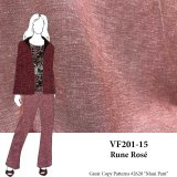 VF201-15 Rune Rose - Cross-Woven Rayon-Linen Blend Shirting Fabric from Telio Fabric from Telio