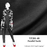 VF201-40 Parallel Nacht - Rich Black Ponte di Roma  Double Knit Fabric