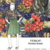 VF202-07 Permies Kauai - Designer Combed Cotton Shirting Fabric