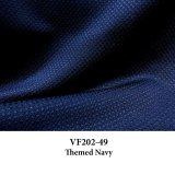 VF202-49 Themed Navy - Reversible Polyester Novelty Suiting Fabric
