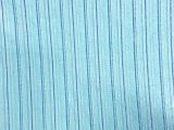 VF203-03 Havana Uno - Blue Medium Weight Stretch-Woven Cotton-Linen Stripe Fabric