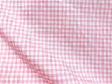 VF203-17 Bayamón Check - Petal Pink Lightweight Stretch Cotton Gingham Check Fabric