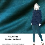 VF205-04 Oktoberfest Ponti - Mallard Supple Ponti di Roma Double-knit Fabric