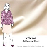 VF205-07 Celebration Blush - Warm Champagne Colored Dressweight Stretch-Woven Fabric