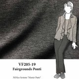 VF205-19 Fairgrounds Ponti - Heathered Grey Ponti di Roma Double-Knit Fabric
