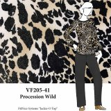 VF205-41 Procession Wild - ITY Animal Print with Gold Shimmer Fabric