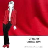 VF206-03 Embrace Terry - Red French Terry Knit Fabric from Telio & Cie