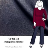 VF206-23 Fredagsmys Bamboo - Navy French Terry Knit Fabric from Telio & Cie