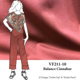 VF211-10 Balance Cinnabar - Earthy and firm Ponte di Roma Double Knit Fabric